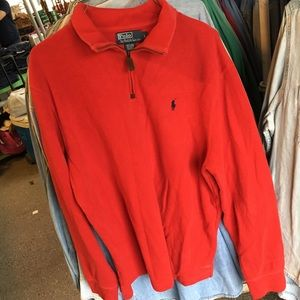 Polo Ralph Lauren Quarter Zip Pullover Sweater